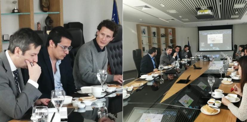 CIUDATUM se reúne con presidente de la CCHC