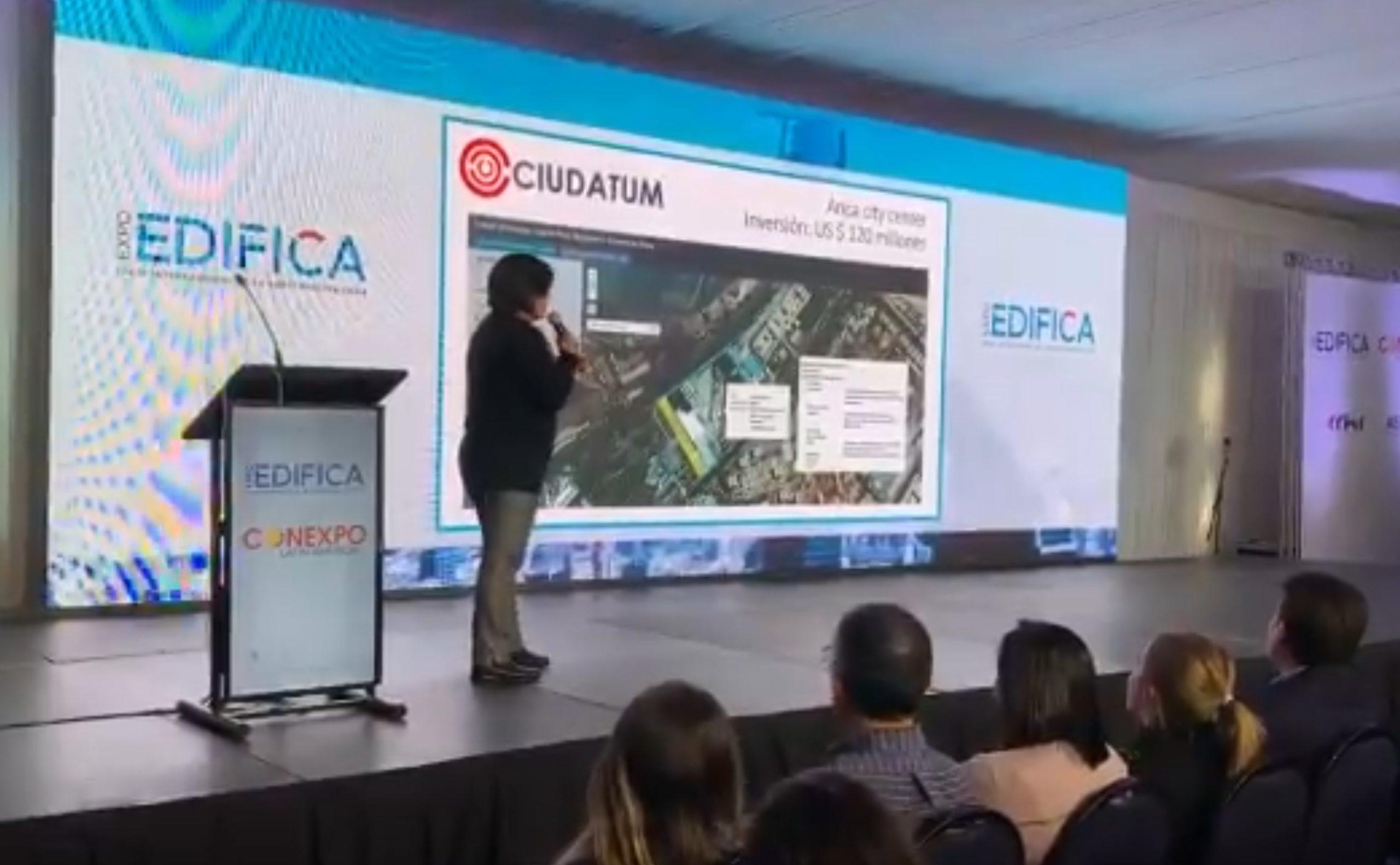 CIUDATUM participa en EXPOEDIFICA 2019